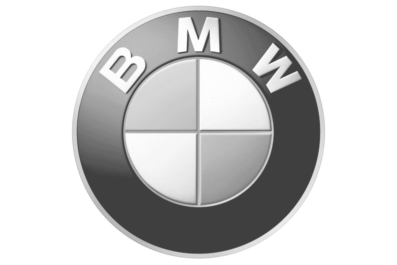 Bmw Logo Greyscale New